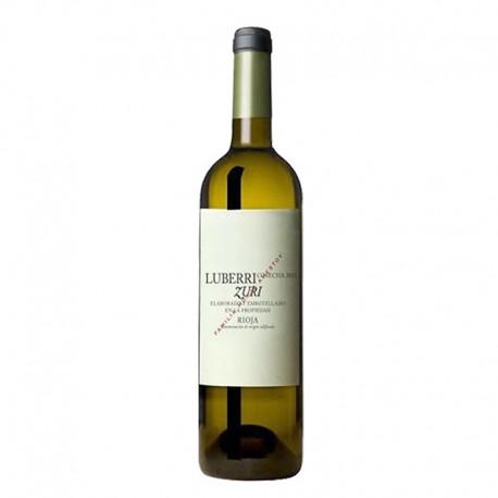 LUBERRI ZURI 2018 vino blanco botella 75 cl.