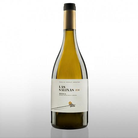LA SALINAS ZURI vino blanco fermentado